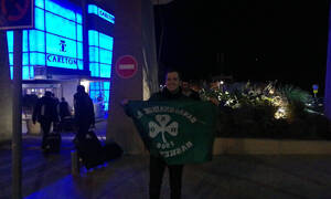 Παναθηναϊκός ΟΠΑΠ: Στο Τελ Αβίβ τον περίμενε… ο Σιμόν! (photos+videos)