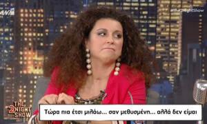«The 2Night Show»: Συγκλονίζει η Κατερίνα Βρανά: «Έπαθα σηψαιμία, σηπτικό σοκ και σχεδόν πέθανα»