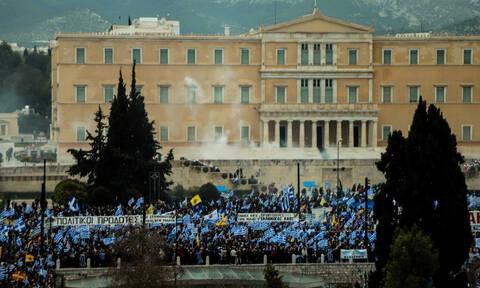 Συλλαλητήριο κατά της Συμφωνίας των Πρεσπών - «Φρούριο» η Βουλή - Ποιοι δρόμοι θα κλείσουν