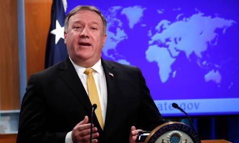 Πομπέο: Οι ΗΠΑ δεν αναγνωρίζουν το καθεστώς του Μαδούρο