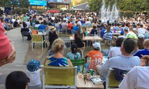 Τσιτσιπάς-Ναδάλ: Γέμισε με Έλληνες η Γκάρντεν Σκουέρ (photos)
