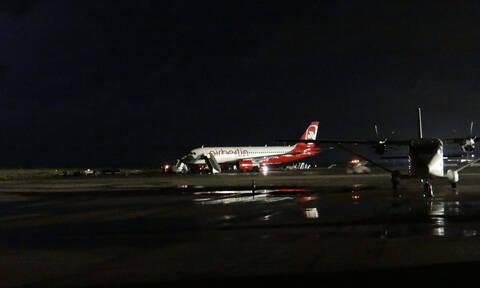 O «Φοίβος» προκάλεσε προβλήματα στη Ρόδο - Ακυρώθηκαν πτήσεις και δρομολόγια πλοίων (vid)