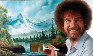 Μπορείτε να μαντέψετε τι δουλειά έκανε ο Bob Ross πριν γίνει ζωγράφος; (video)