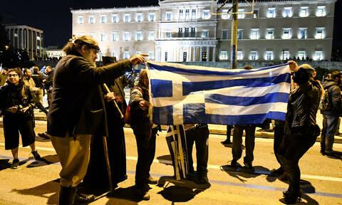 Συλλαλητήριο Αθήνα: Δείτε live εικόνα από το Σύνταγμα