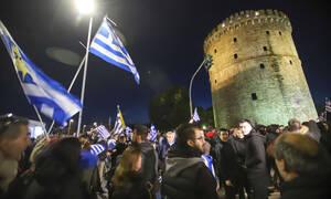 Θεσσαλονίκη: Διαδήλωση κατά της Συμφωνίας των Πρεσπών – Επεισόδια  με μολότοφ (pics)