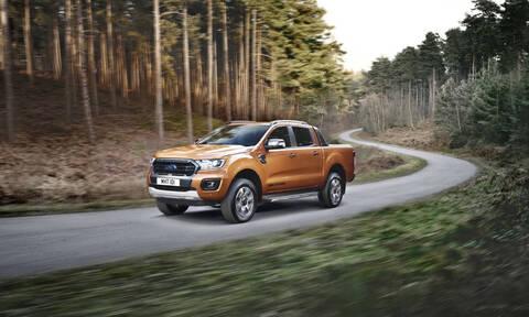 Η Ford αποκαλύπτει το ισχυρότερο, οικονομικότερο και με αυτόματο κιβώτιο 10 σχέσεων νέο Ranger