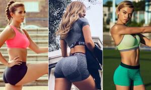 Γυναίκες με καυτά σορτσάκια στα γυμναστήρια! (pics)