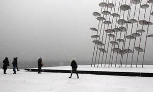 Καιρός: Έρχονται χιόνια στη Θεσσαλονίκη – Ισχυρά φαινόμενα και στην Αθήνα