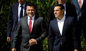 Συμφωνία των Πρεσπών: Το μήνυμα του Ζάεφ στον Τσίπρα μετά το ξεπούλημα