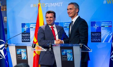 Συμφωνία Πρεσπών - Στόλτενμπεργκ: Προσβλέπω στην ένταξη της Βόρειας Μακεδονίας στο ΝΑΤΟ