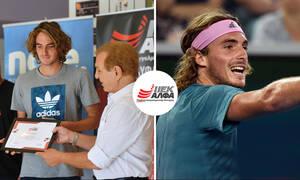 Στέφανος Τσιτσιπάς: Ο «Έλληνας θεός» του τένις σπουδάζει στο ΙΕΚ ΑΛΦΑ