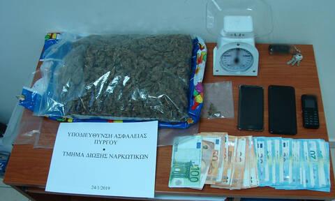 Ηλεία: Εξαρθρώθηκε εγκληματική οργάνωση διακίνησης ναρκωτικών (pics)