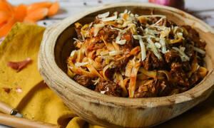 Η συνταγή της ημέρας: Ταλιατέλες με μοσχαράκι