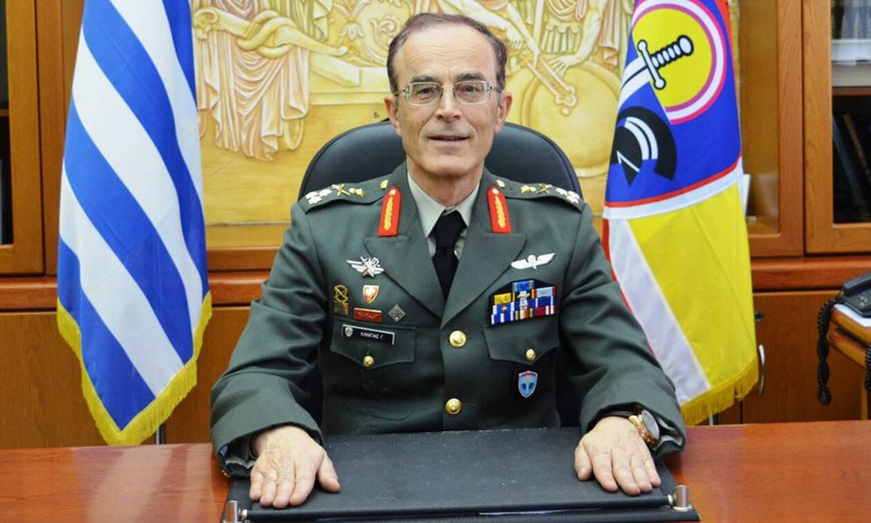 Γεώργιος Καμπάς: Εκτάκτως στο νοσοκομείο ο νέος αρχηγός ΓΕΣ