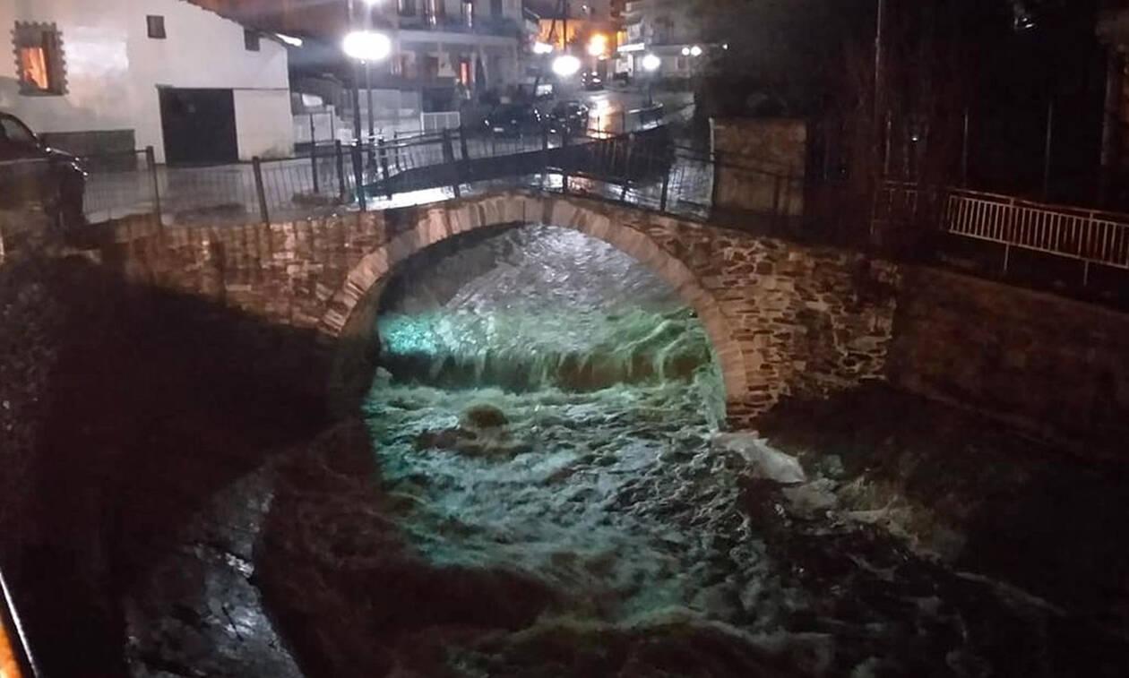 Πλημμύρες και καταστροφές σε Καβάλα, Δράμα και Ξάνθη - Υπερχείλισε ο Νέστος (pics)