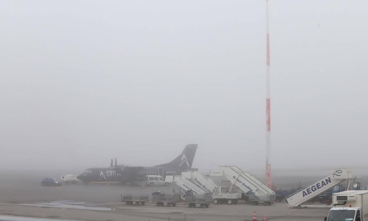 Προβλήματα στο αεροδρόμιο «Μακεδονία» λόγω πυκνής ομίχλης