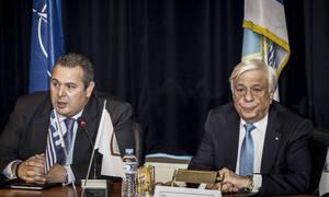 Καμμένος σε Παυλόπουλο: «Κρίμα κύριε Πρόεδρε»