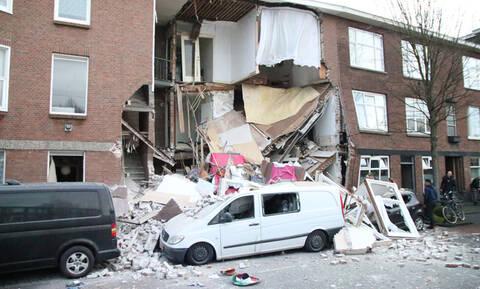 Συναγερμός στην Ολλανδία: Ισχυρή έκρηξη στη Χάγη - Εννέα τραυματίες (pics+vid)