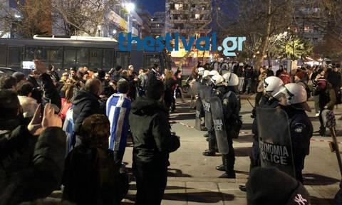 Συμφωνία των Πρεσπών: Ένταση στη Θεσσαλονίκη με φόντο την επίσκεψη του Προκόπη Παυλόπουλου