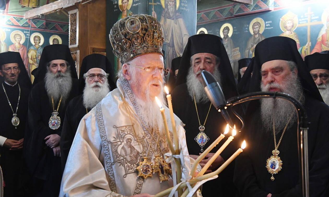 Βαρθολομαίος: Η Εκκλησία της Κωνσταντινουπόλεως πάντοτε συμπορεύεται με τα αιτήματα των καιρών