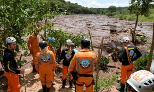Βραζιλία: Στους 58 οι νεκροί από την κατάρρευση του φράγματος