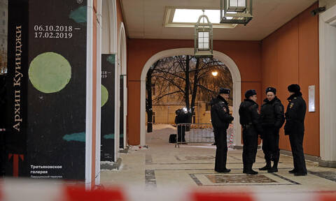 Сотрудники МВД задержали подозреваемого в похищении картины Куинджи