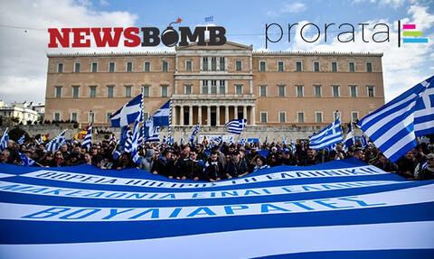 Ψηφίστε τώρα: Ποια κόμματα θα ενισχυθούν από το Σκοπιανό ζήτημα;