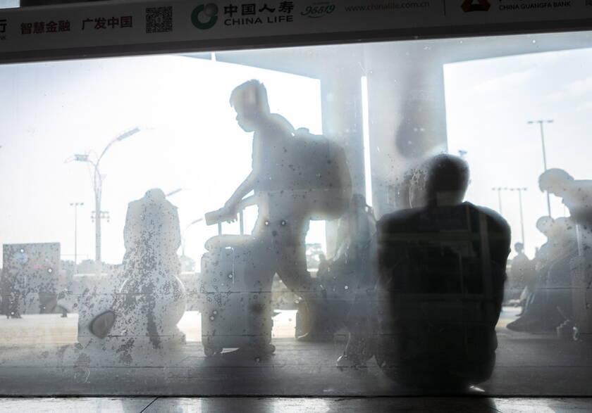 Μαύρο άντρα που χρονολογείται στην Κίνα