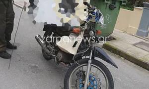 Απίστευτος «ντελιβεράς» στα Χανιά: Δείτε τι φόρτωσε στο μηχανάκι του! (pics)