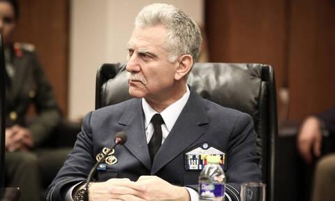 Ανέλαβε τα καθήκοντά του ο νέος Aρχηγός ΓΕΕΘΑ Χρήστος Χριστοδούλου (vid)