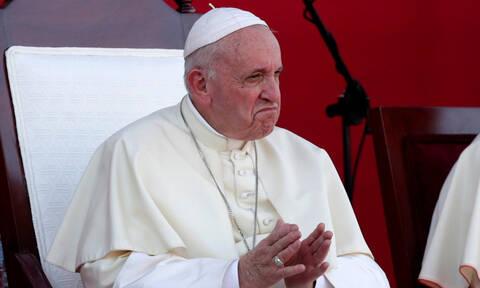 Δραματική δήλωση του Πάπα: «Φοβάμαι μη χυθεί αίμα στη Βενεζουέλα»