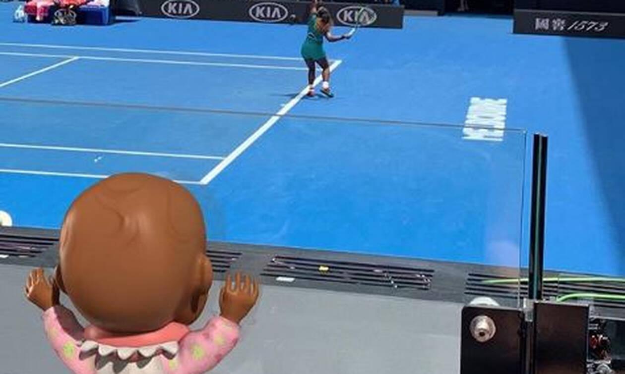 Η Σερένα Ουίλιαμς στέλνει αντιρατσιστικό μήνυμα με μία... κούκλα! (pics)