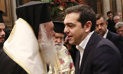 Συμφωνία των Πρεσπών - Αρχιεπισκοπή Αθηνών: «Fake news η επικοινωνία Ιερώνυμου - Τσίπρα»
