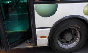 Τρόμος για οδηγό λεωφορείου στη Δυτική Αττική