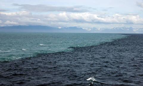 Φοβερό βίντεο: Το σημείο όπου ενώνονται Ατλαντικός και Ειρηνικός ωκεανός
