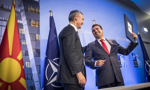 Επισπεύδεται η ένταξη των Σκοπίων στο ΝΑΤΟ - Συνεχίζει να μιλά για «Μακεδονία» ο Ζάεφ