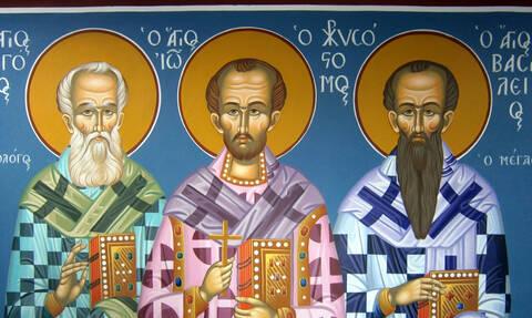 Τα Χανιά υποδέχτηκαν τα Ιερά Λείψανα των Τριών Ιεραρχών (pics&vid)