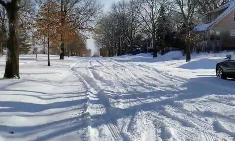 ΗΠΑ: Πρωτοφανές κύμα ψύχους με θερμοκρασίες έως και -50 βαθμούς Κελσίου