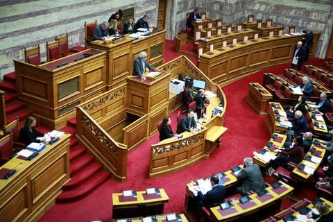 Χαμός στη βουλή για το νομοσχέδιο για το ΑΣΕΠ