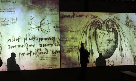 Εντοπίστηκε το δακτυλικό αποτύπωμα του Λεονάρντο Ντα Βίντσι σε σχέδιό του