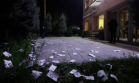 Ρουβίκωνας: Έκανε ντου σε εκδήλωση του ΣΥΡΙΖΑ στο Αιγάλεω - Δείτε φωτογραφίες
