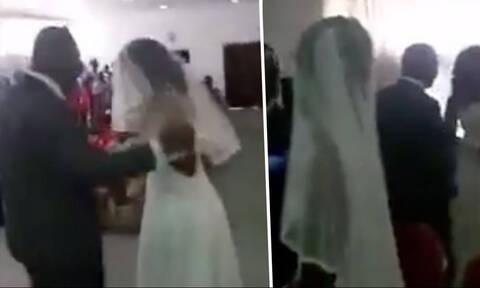 Σκάνδαλο άνευ προηγουμένου σε γάμο - Δείτε τι συνέβη στο βίντεο