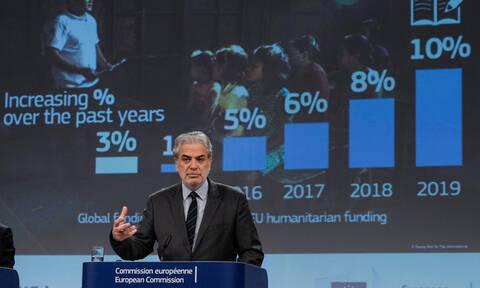 Ανθρωπιστική βοήθεια από την Ε.Ε με δυναμικό προϋπολογισμό