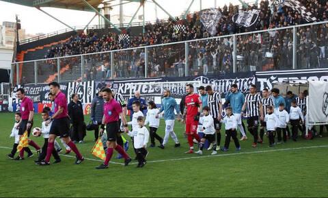 Μάγκες οι οπαδοί του ΟΦΗ, σήκωσαν πανό για τα Ίμια! (photos)