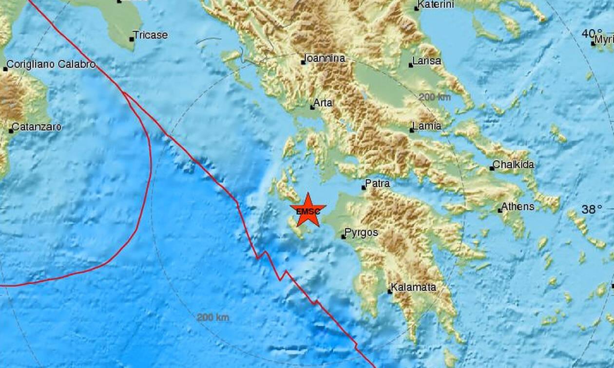 Σεισμός ΤΩΡΑ στη Ζάκυνθο - Αισθητός στο νησί (pics)