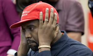 Αυτή είναι η αινιγματική εμφάνιση του Κάνιε Γουέστ που «δίχασε» τα social media (Pic)
