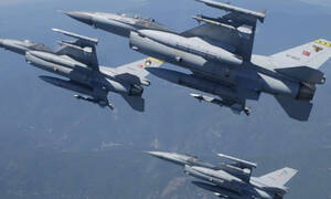 Θρίλερ στο Αιγαίο με τουρκικό F-16: Έσβησε ο κινητήρας του κατά τη διάρκεια παραβιάσεων