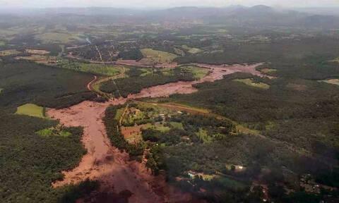 Στη δημοσιότητα νέο συγκλονιστικό βίντεο από την κατάρρευση του φράγματος στη Βραζιλία
