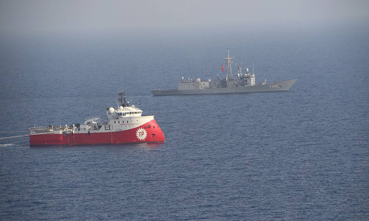 Πολεμικό σκηνικό «στήνει» ο Ερντογάν: Στέλνει το Μπαρμπαρός στην Κύπρο μαζί με φρεγάτες και κορβέτες