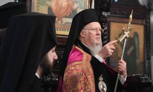 Οι ευχές του Οικουμενικού Πατριάρχη προς τον Ηγούμενο της Μονής Βατοπαιδίου